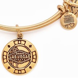 Alex and Ani Las Vegas Charm Bangle Bracelet
